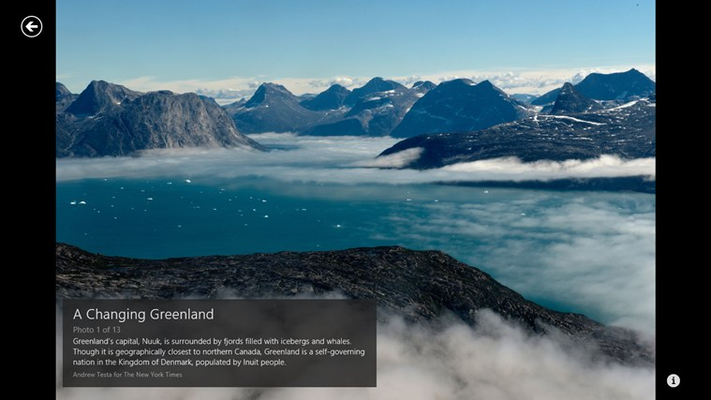 The New York Times for Windows 8