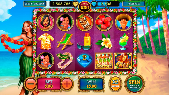 Hawaiian Party - Slots Paradise for Windows 8