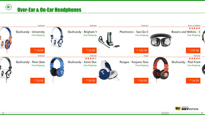 Huge product selection of consumer electronics.