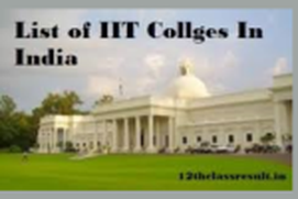 top iit's in india