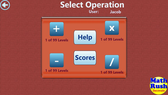 Select your operation