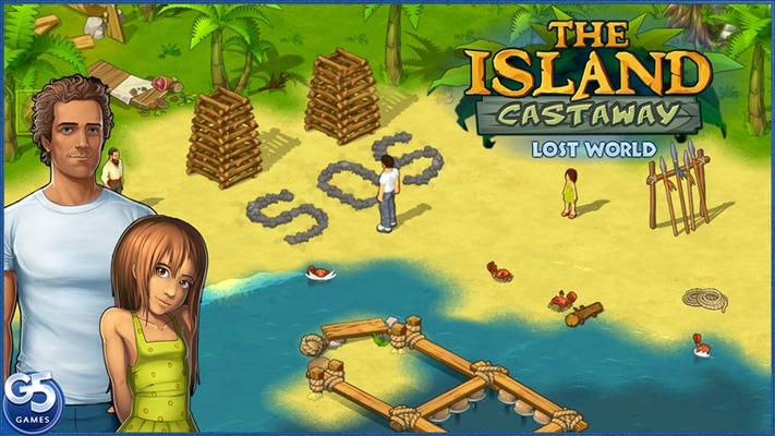 Mayday! Ready to escape a tropical island after a shipwreck?