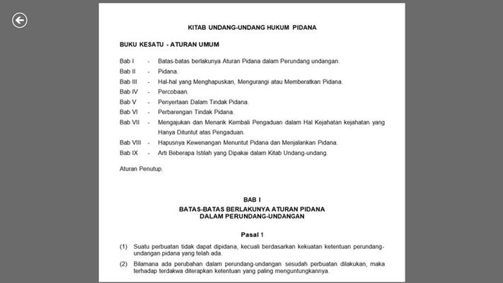 6. Setiap data perundang-undangan ditampilkan sesuai data resmi dari Pemerintahan Indonesia