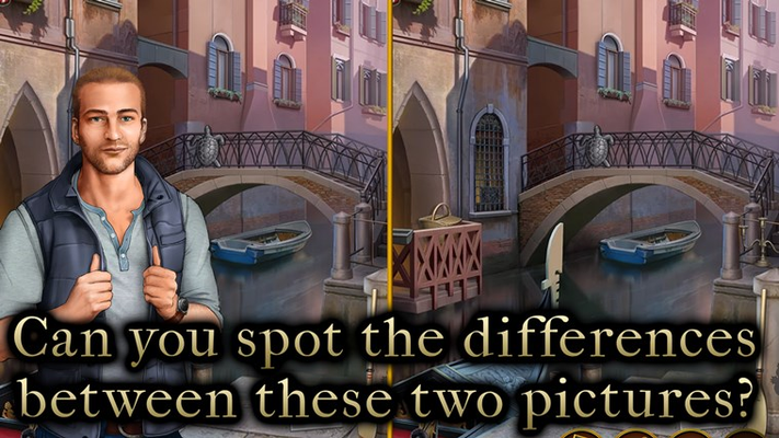 Can you spot the differences between these two pictures?