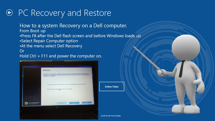 How to restore/reset