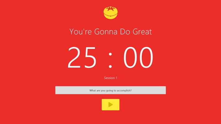 A simple and beautiful Pomodoro timer.
