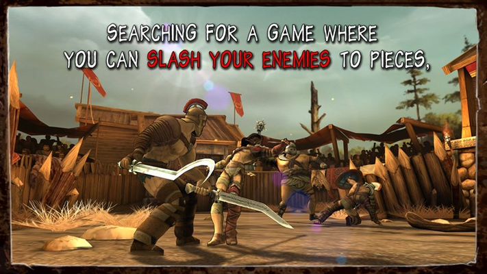 Searching for a game where you can slash your enemies to pieces,