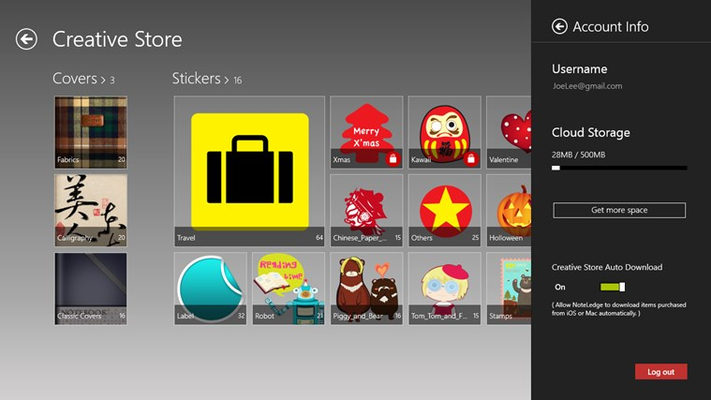 NoteLedge for Windows 8 for Windows 8