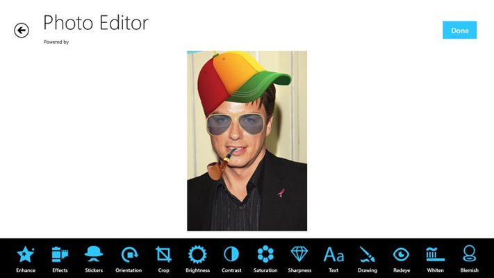 This tool will allow you to edit images and apply many effects easily and effortlessly.