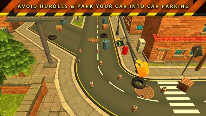 Town Car parking - Scene 4.