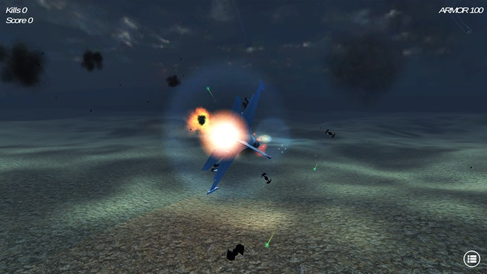Test your shooting skills along with your aviation abilities.