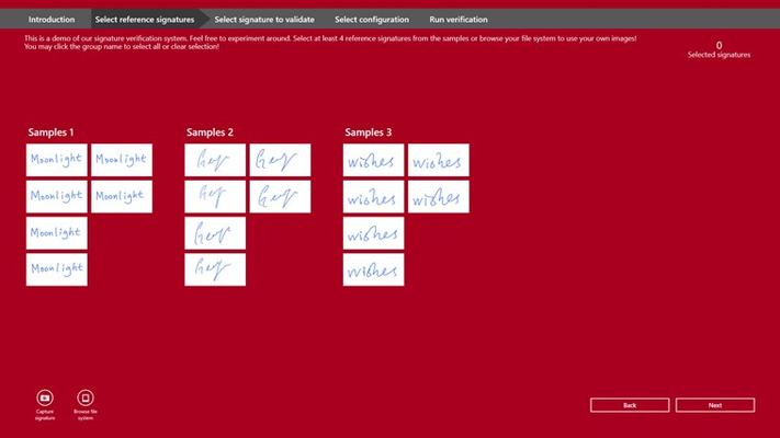 Signature Verification for Windows 8