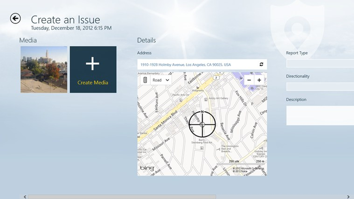 CitySourced Console for Windows 8