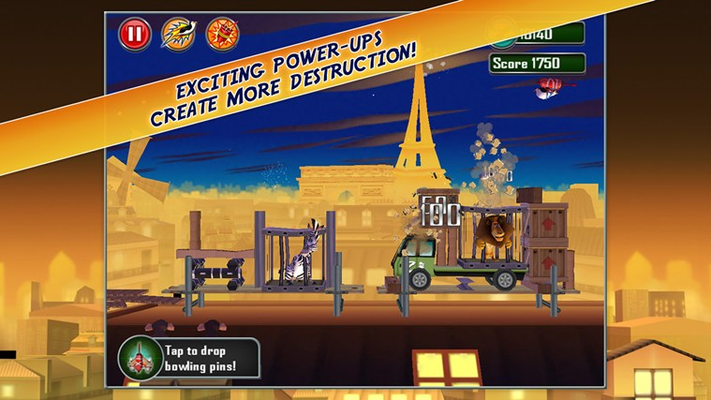 Exciting Power-ups create more destruction!