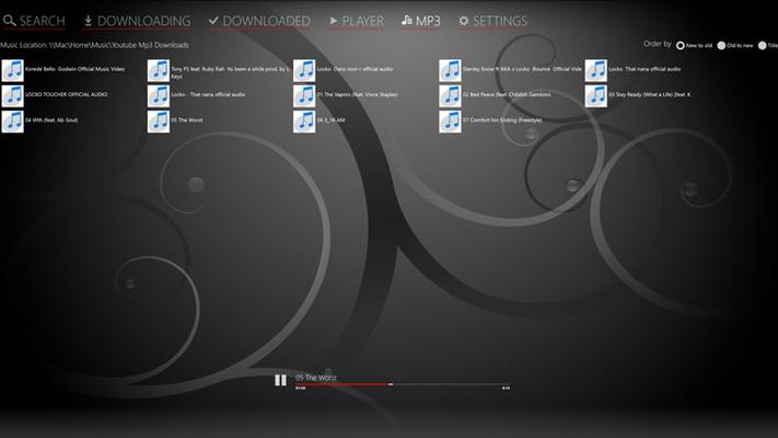 One Tube Downloader for Windows 8