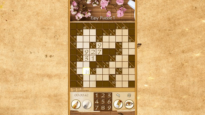 Smooth gameplay, pencil mode, clean layout and 3 input modes: touch, mouse or keyboard.