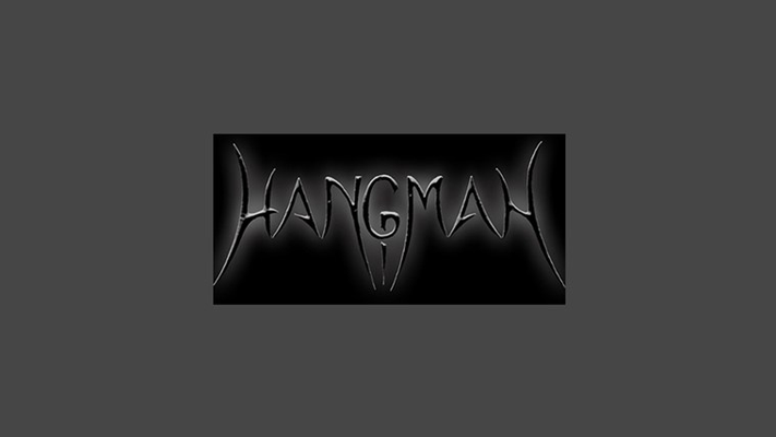 This is the splash screen for hangman5.