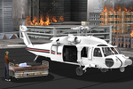 City Helicopter Rescue Flight - Air Help Service