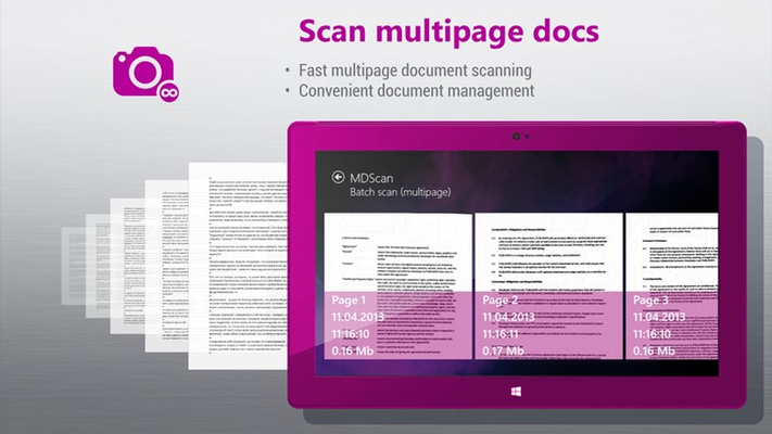 Scan multipage docs