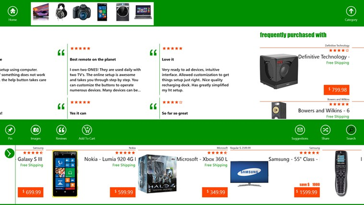 Comprehensive reviews, detailed product specifications, bundles, related products plus many more