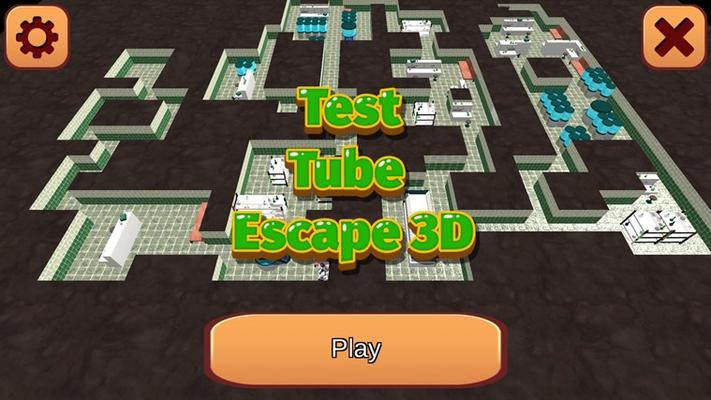 Test Tube Escape 3D for Windows 8