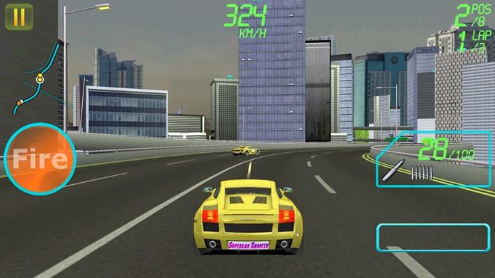 Supercar Shooter for Windows 8