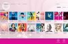 Library/ Albums page