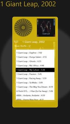 Music Shuffle for Windows 8