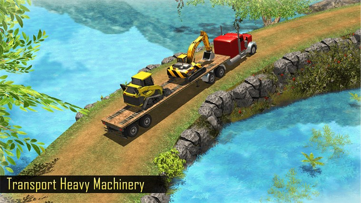 OffRoad Construction Simulator 3D - Heavy Builders