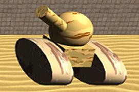 Tank Hero Desert Battle