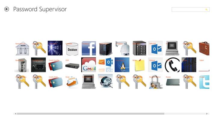 Password Supervisor for Windows 8