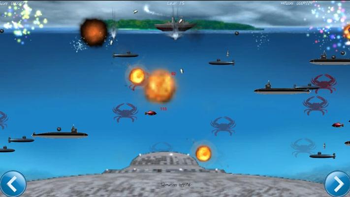 Secret enemy under-water-base detected!