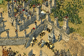 Templar and Duke Stronghold Crusader two