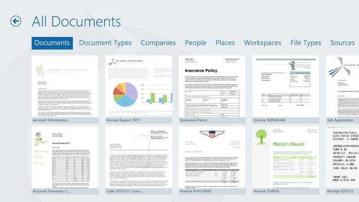 Categories help you navigate your documents easily and effectively