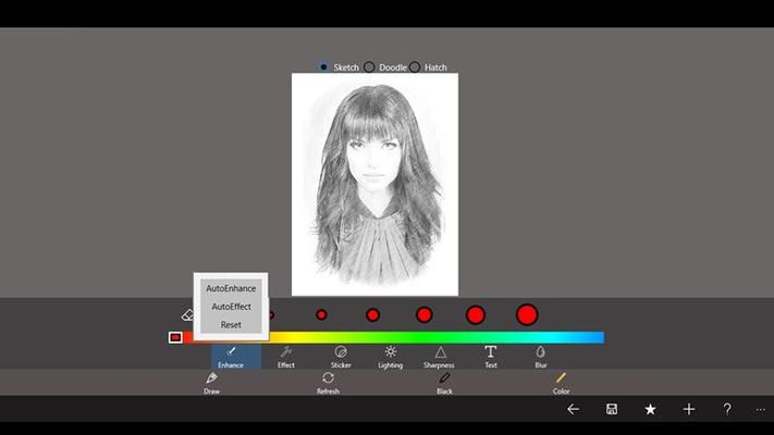 Pencil Sketch Master for Windows 8