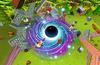 Unleash a super massive Black Hole with the Mystic Vortex