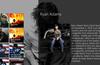 Music Artist. Alternative layout.