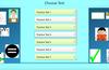 Choose Test Screen