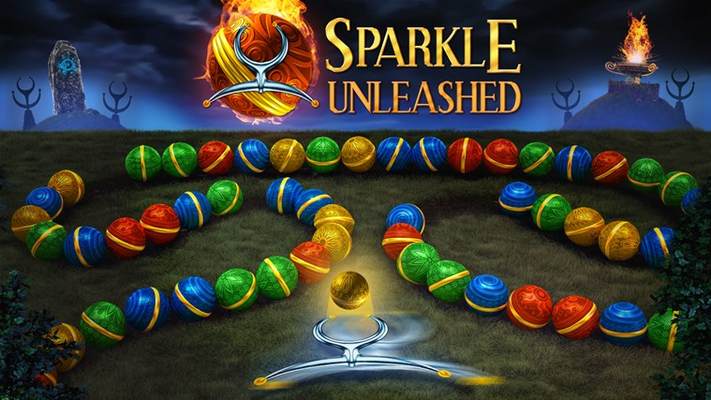 Experience the fabled Sparkle brand marble shooter action puzzle like never before!