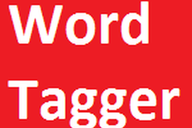 WORD TAGGER 002