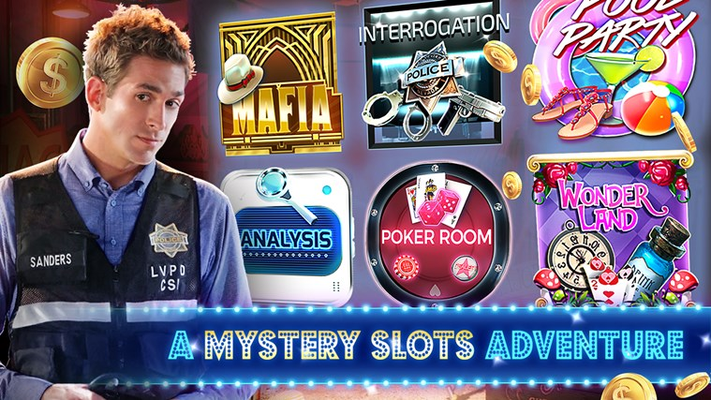 A mystery slots adventure