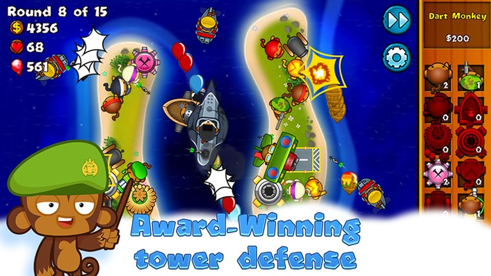Award-winning Tower Defense