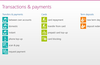 Transfers and payments