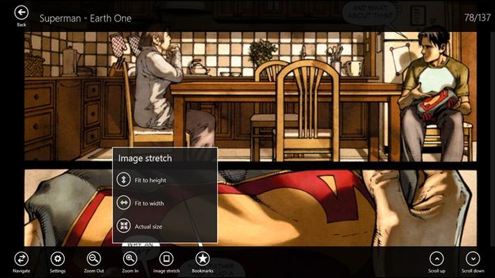Comicana for Windows 8