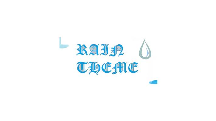 Rain Theme for Windows 8