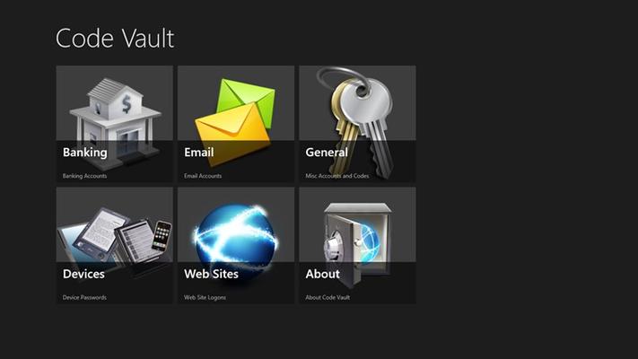 Code Vault for Windows 8