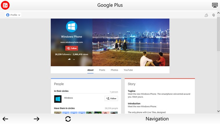 Google Plus - Social App Suite