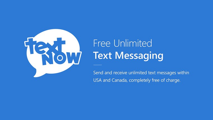 Send and receive unlimited text messages within USA and Canada, completely free of charge