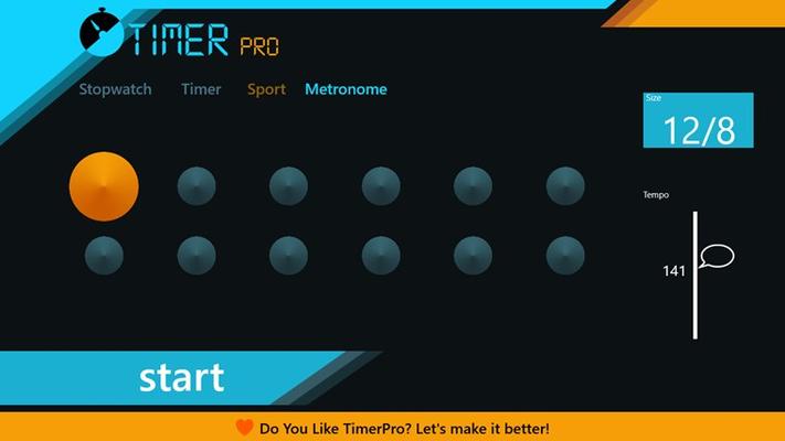 Easy metronome