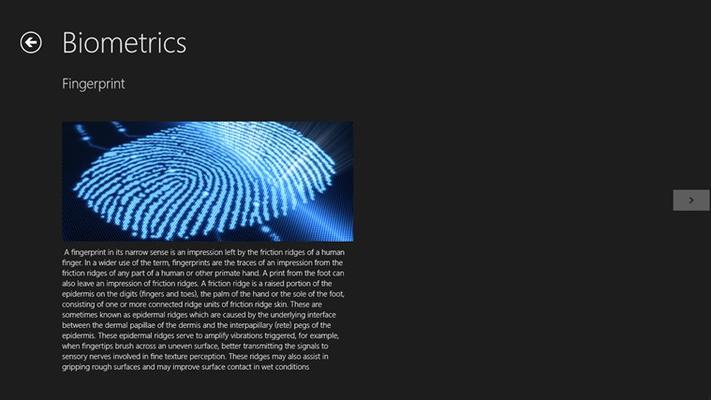 finger bio-metrics